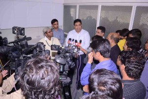AICF-Secretary-Bharat-Singh-interacting-with-media-during-the-function