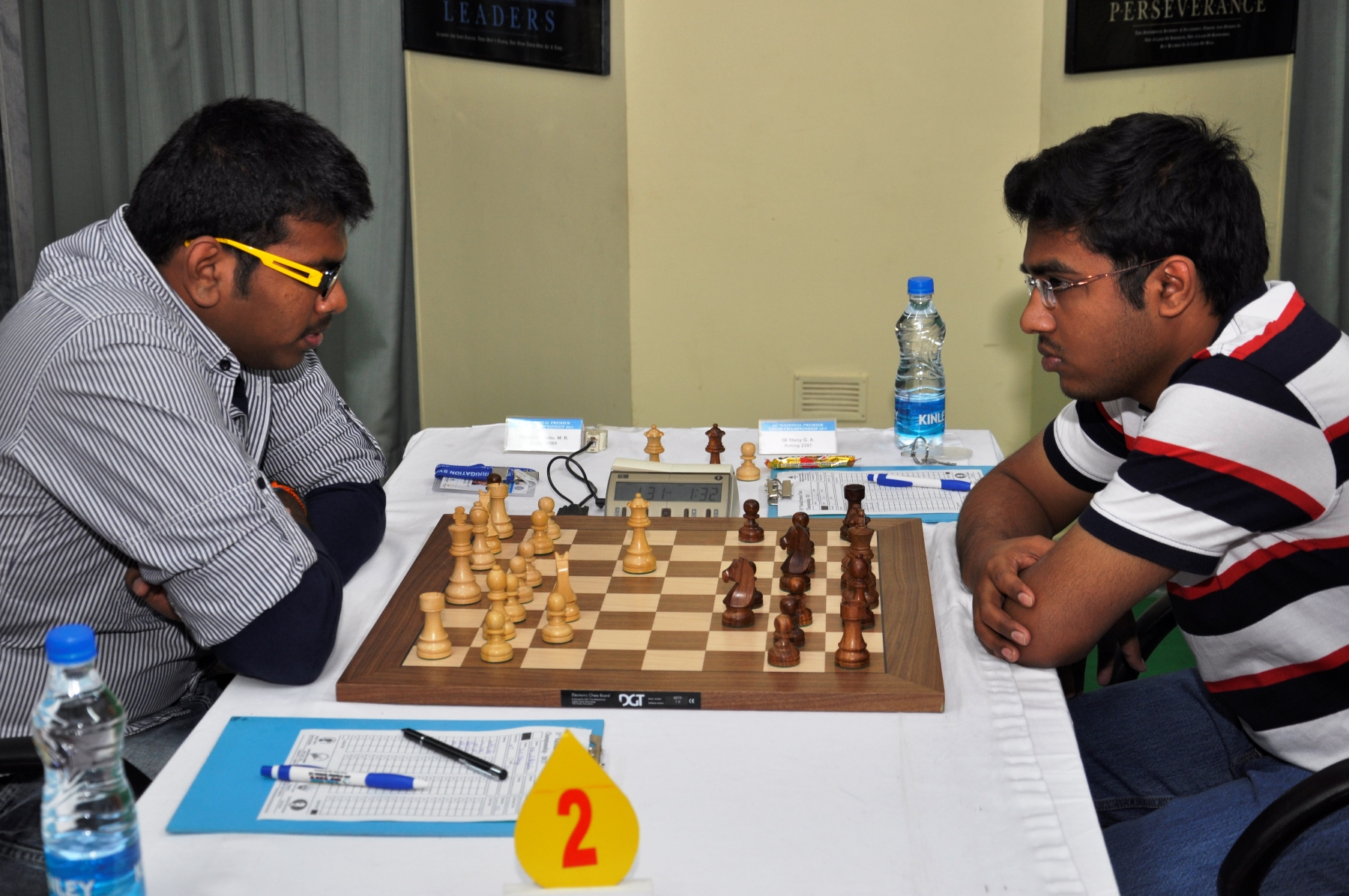 Lalith Babu on a winning spree. he defeated IM Stany GA in the seventh round