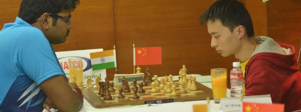 Lalith Babu Helps India Level Scores
