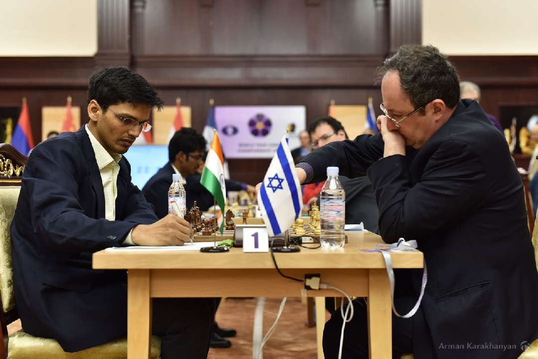 India Lose To Israel By A Wide Margin