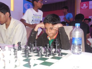 World Youth Champion Nihal Sarin in action