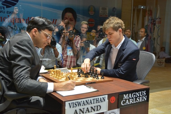 Anand Defeats Carlsen In Round Four