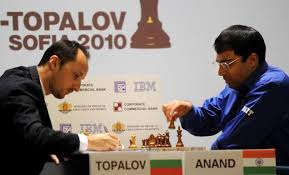 Anand To Face Topalov In Title Game