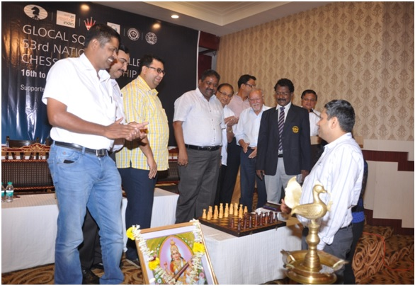 53rd National Challengers Chess Championship 2015 Inaugurated in Nagpur