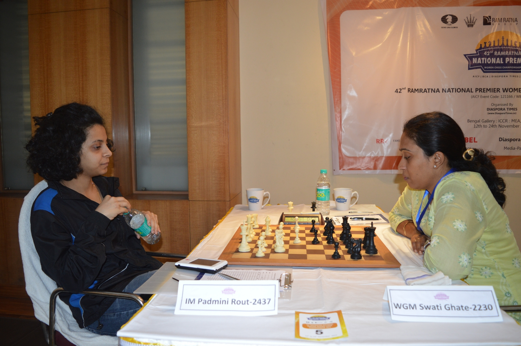 Padmini Rout Wrests Sole Lead