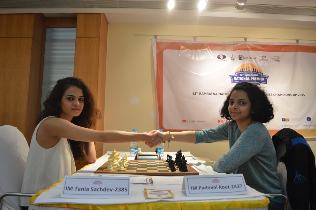 Padmini Rout Beats Tania, Retains Title