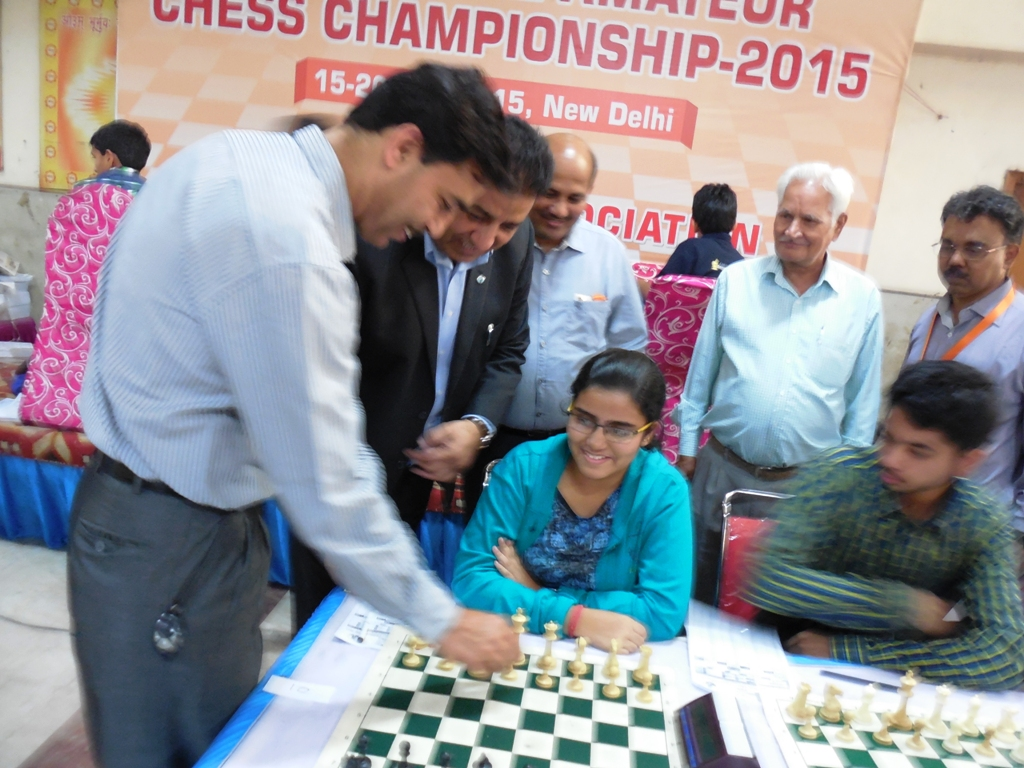 Shri. Sanjay Saraswat, Director Sports Authority of India making inaugural move