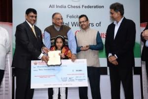 Divya Deshmukh _ Under-10 Girls Bronze