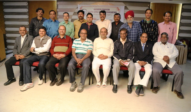 New Office bearers of Madhya Pradesh State Level Chess Association