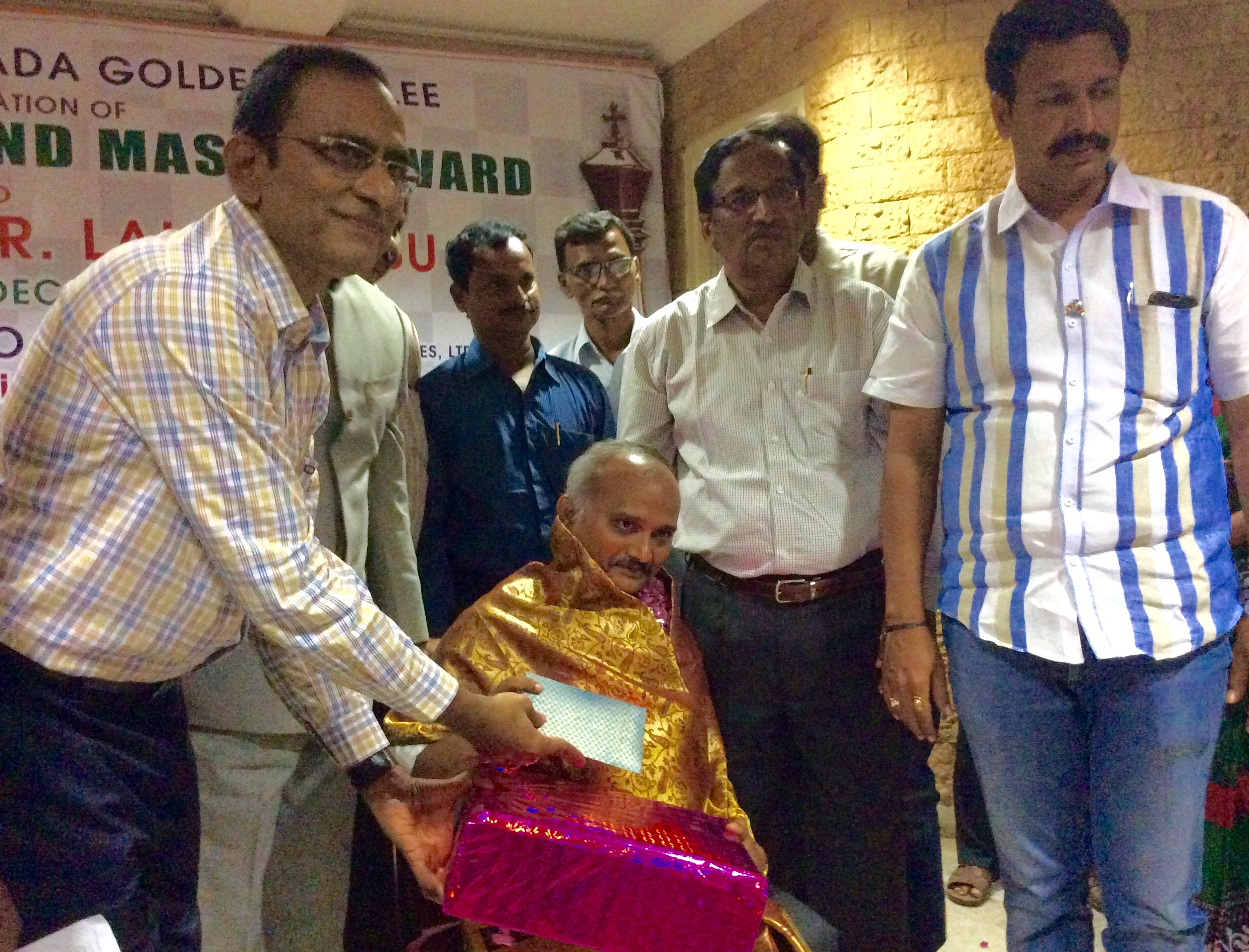 GM Lalith babu and Mr.Muralikrishna Felicitated on Dec16 at Kakinada