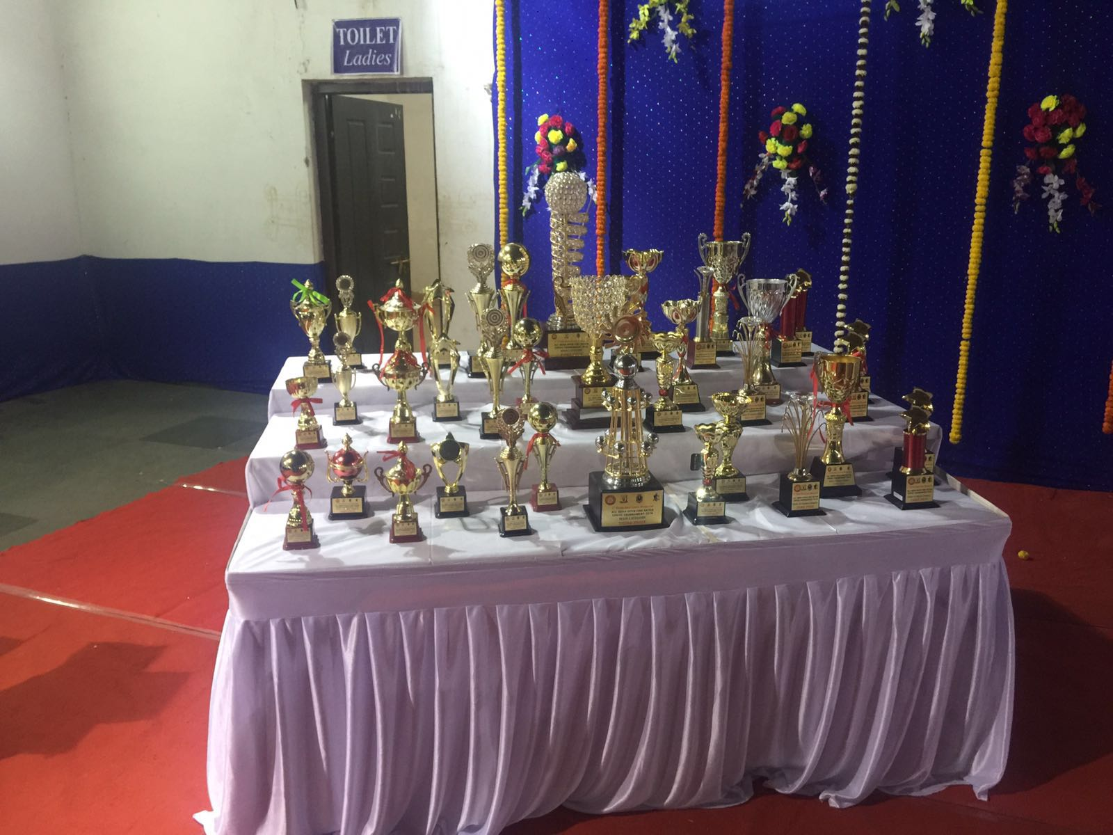 Glimpse of preparations of Chhattisgarhs first rated tournament