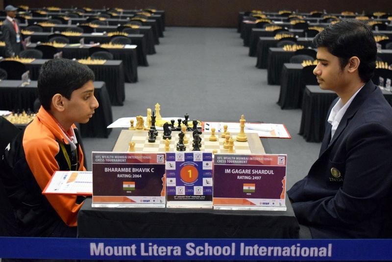 Three share lead @ IIFL Wealth Mumbai International Chess 2016