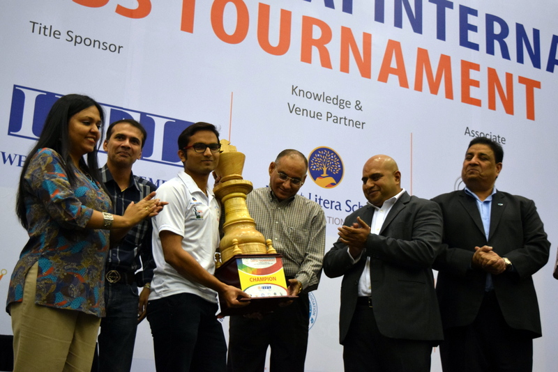 Swapnil emerges Champion @ IIFL Wealth Mumbai International Chess 2016