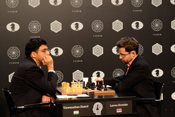 Anand's Endgame Brilliance Places Him In Joint Lead
