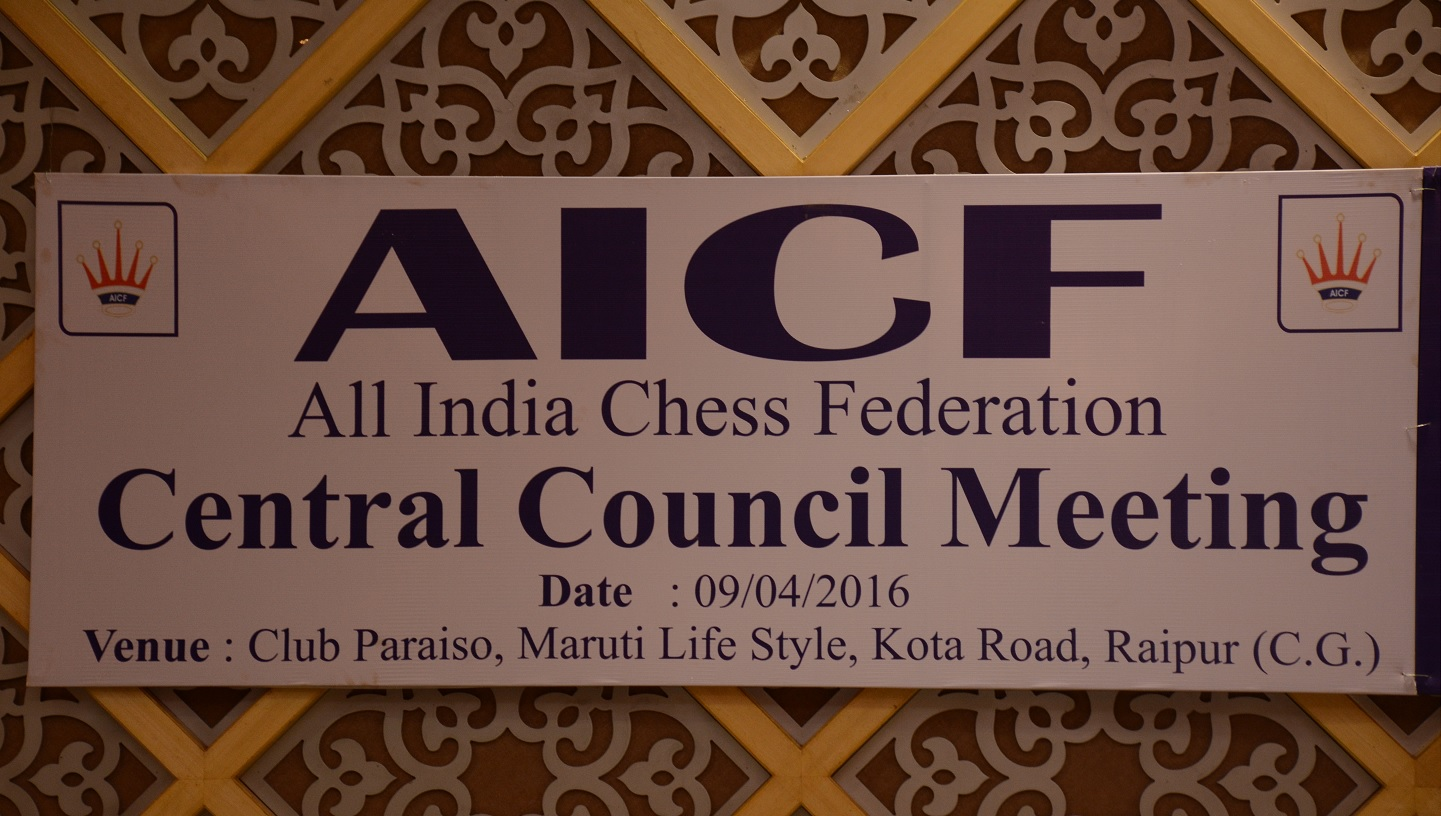 AICF Central Council Meeting on 09.04.2016