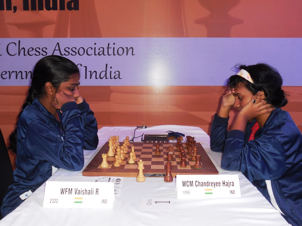 Vaishali and Chandreyee Hajra