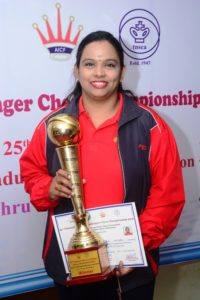 Vijayalakshmi National Women Challenger Champion 2016