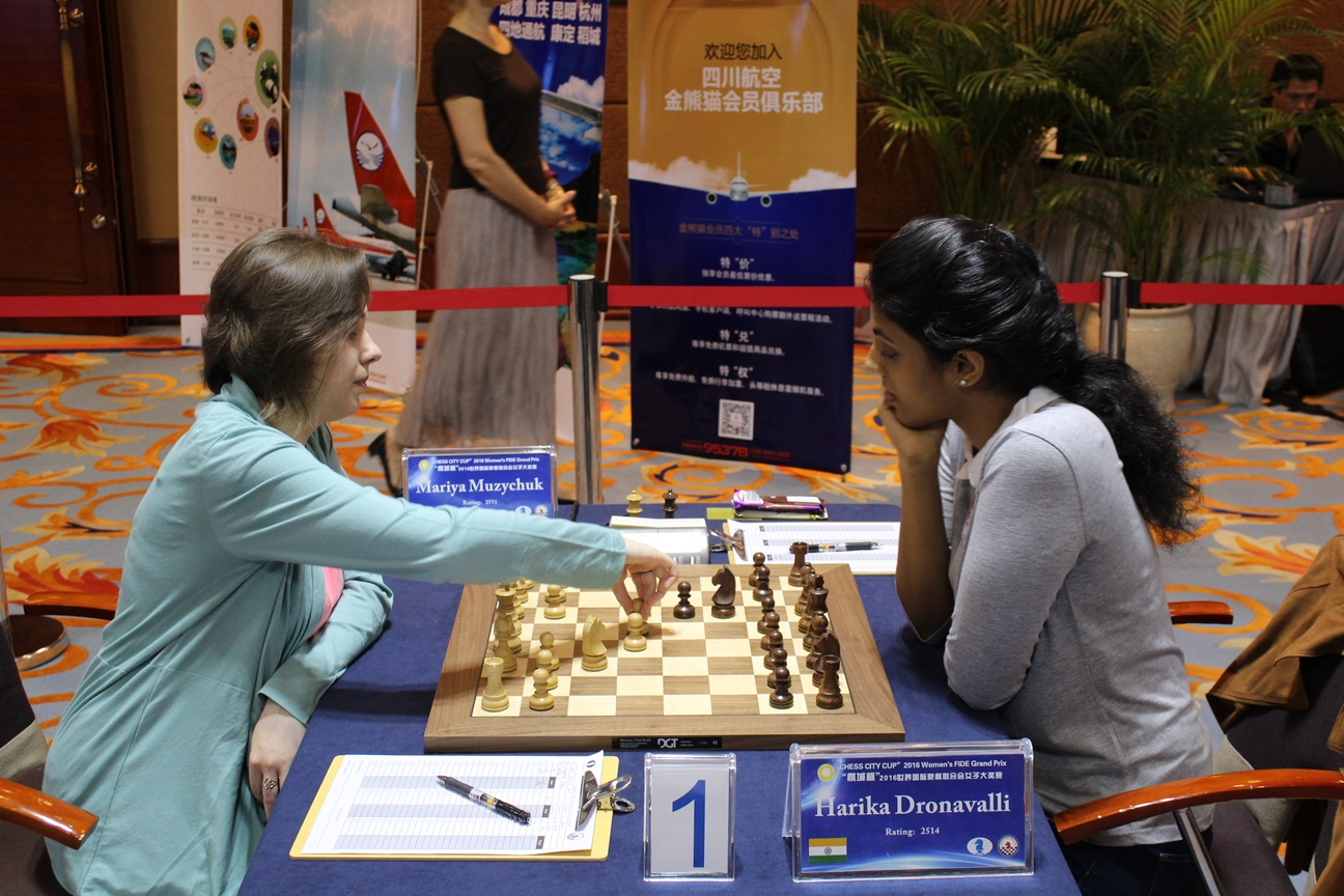 Harika In Sole Lead At Chengdu