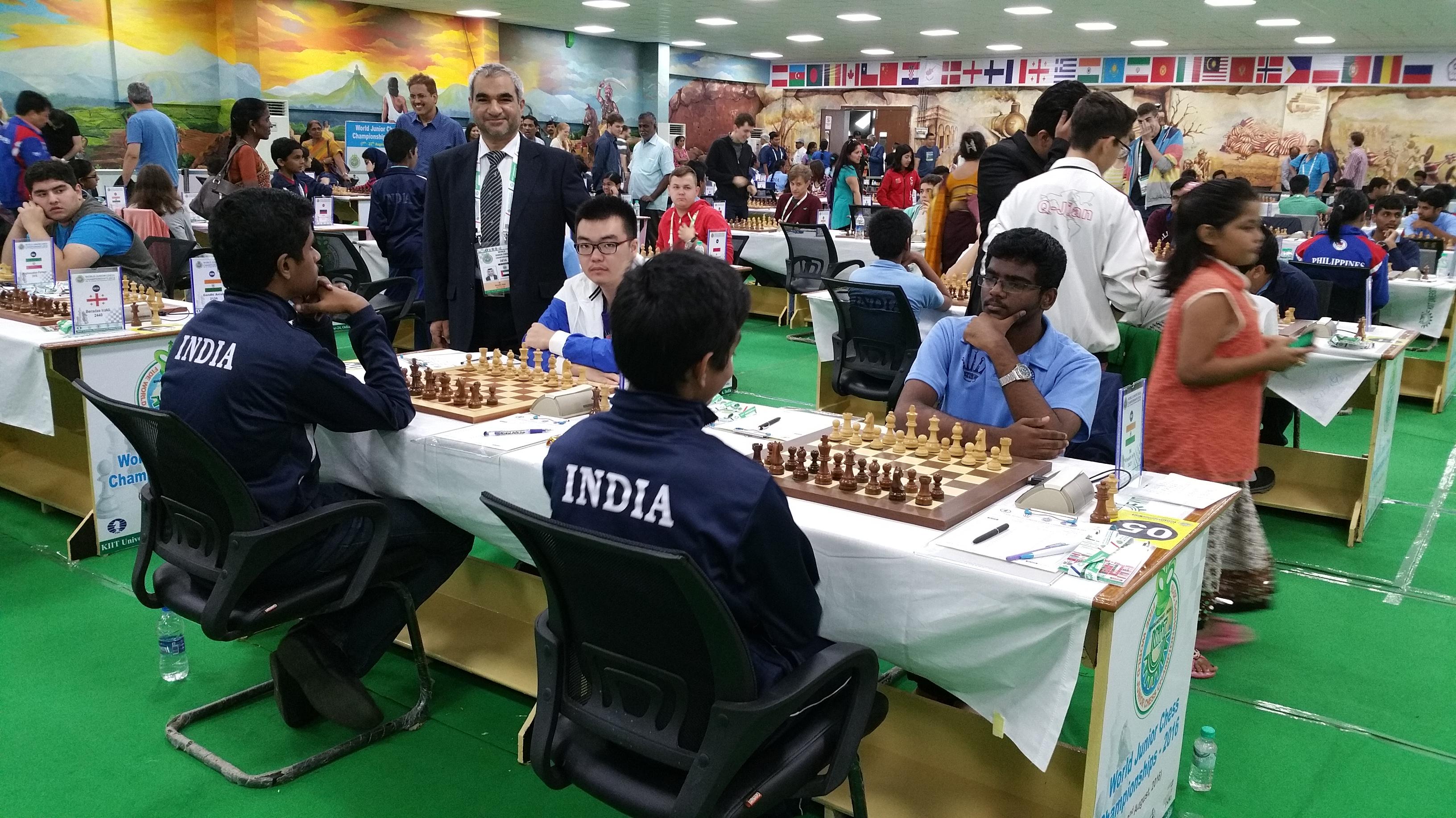 Two Indians Among Six Leaders
