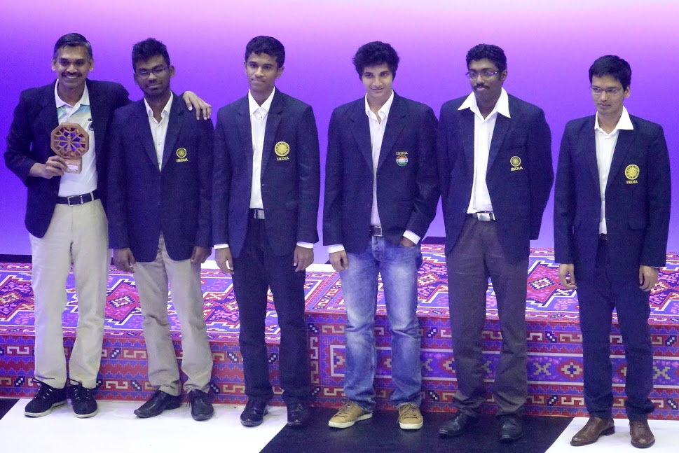 USA and China Olympiad Champions; India finishes fourth in Men and fifth in Women