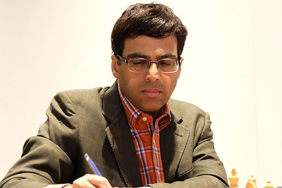 Anand In Joint Lead At Moscow