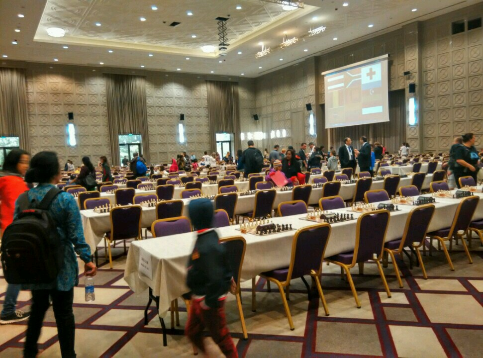 WORLD CADET CHESS CHAMPIONSHIPS, BATUMI GEORGIA
