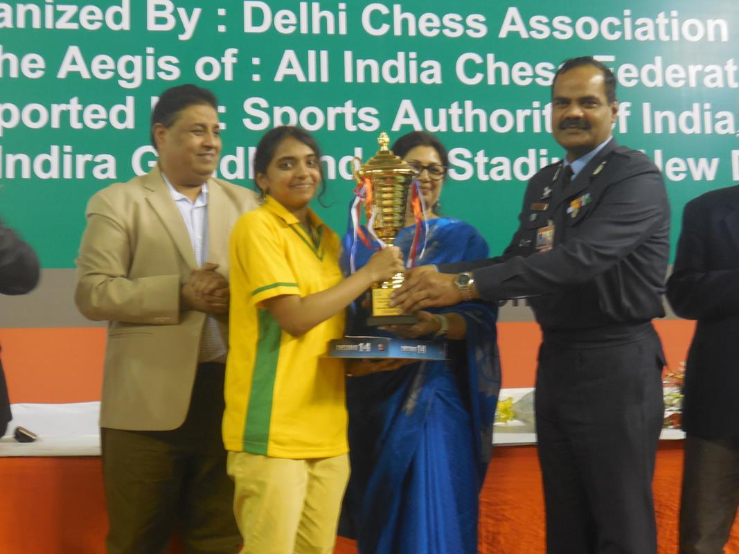 Mitrabha and Harshita National Sub-Junior Champions