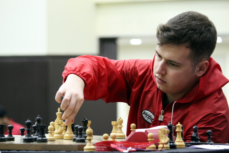 Indian Youngsters hold experienced Grandmasters
