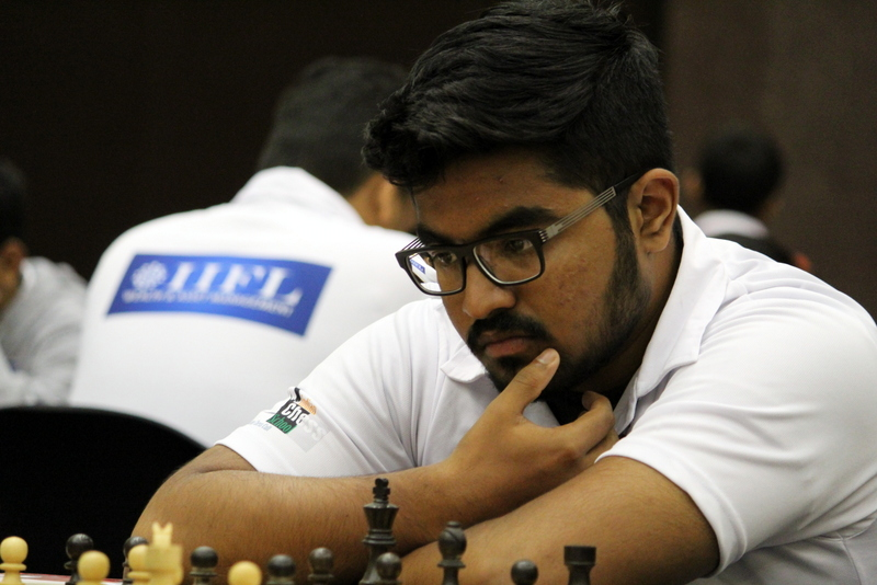 Sanjeev Nair and Saurabh Anand beat Grandmasters