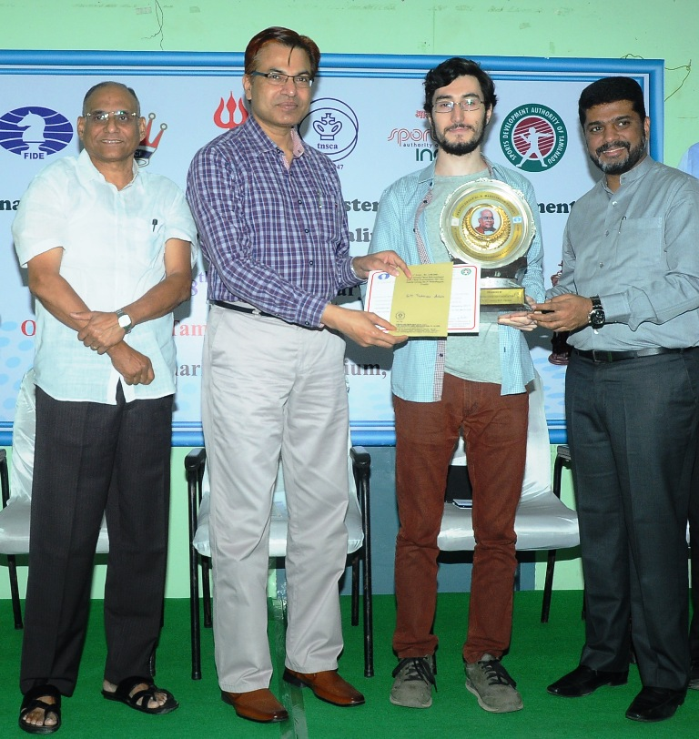 Tukhaev Adam emerges 9th Chennai Open 2017 Champion