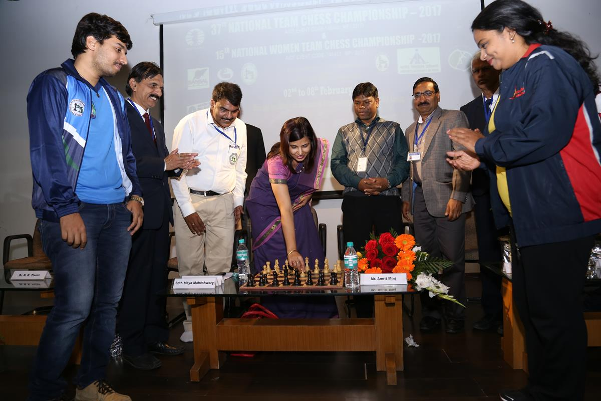 National Team Chess Championship begins