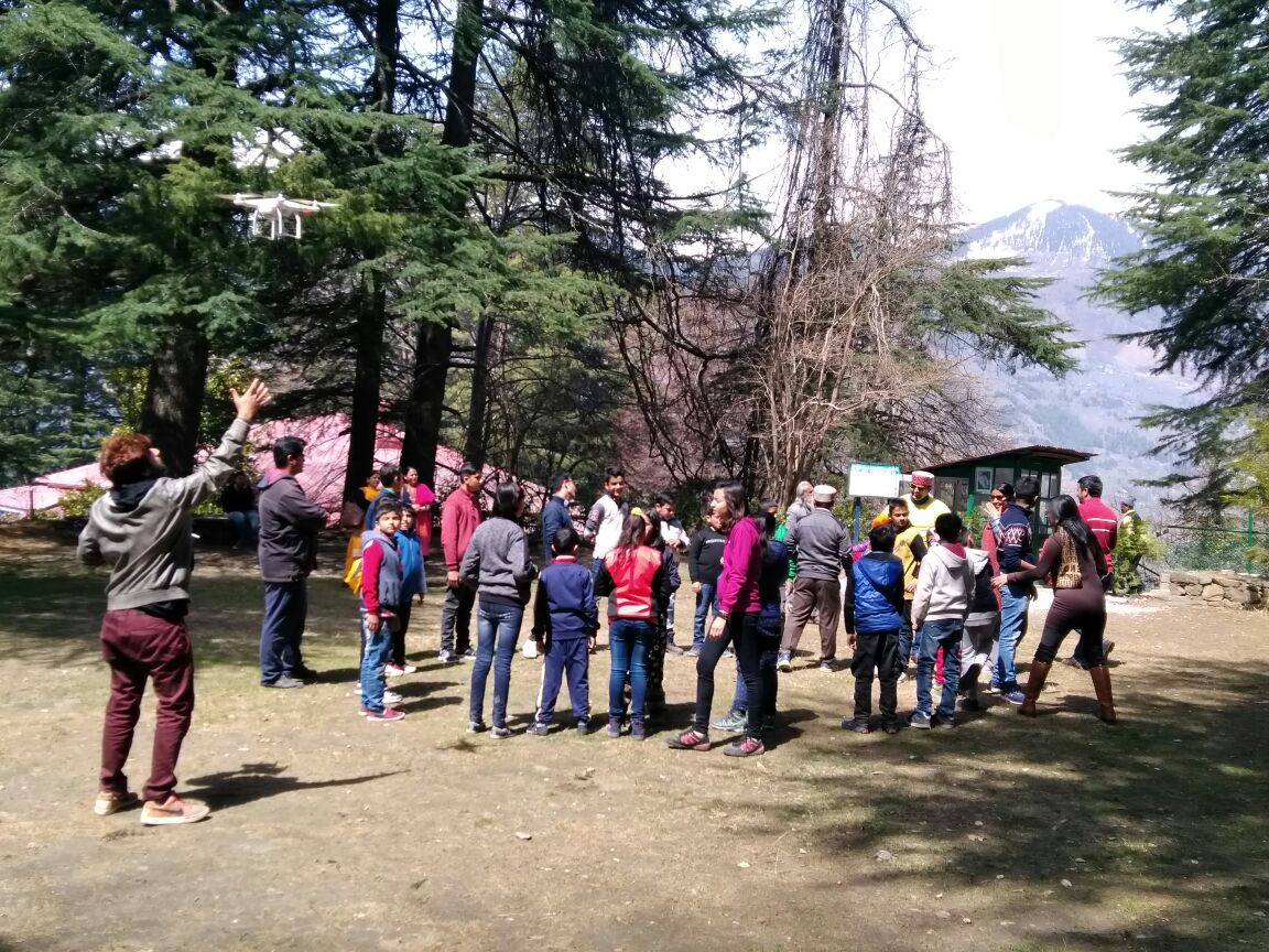 1st AICF assisted Eco Chess Camp on the Himalayas