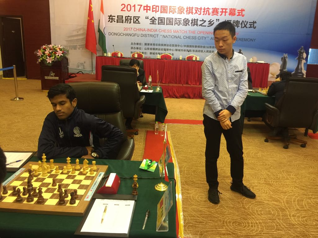 Murali scripts India victory in Chess Summit