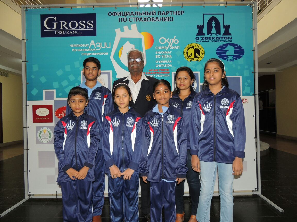 Asian Youth Chess Championship begins; Five Medals in Rapid for India