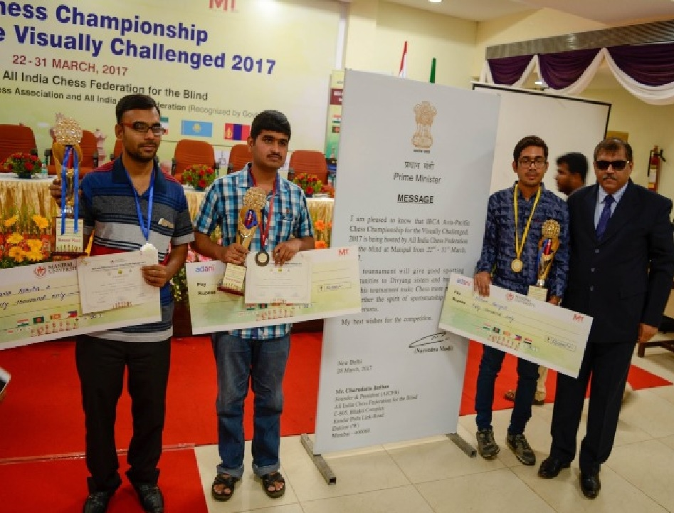 Indians Dominate Asian Blind Championship