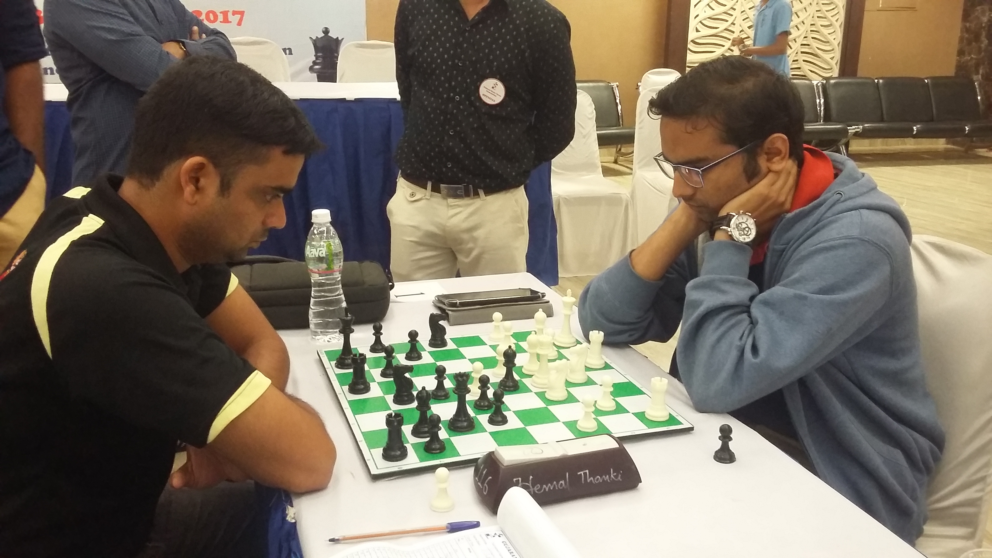 Dhopade maintains lead; Lalith moves to second spot
