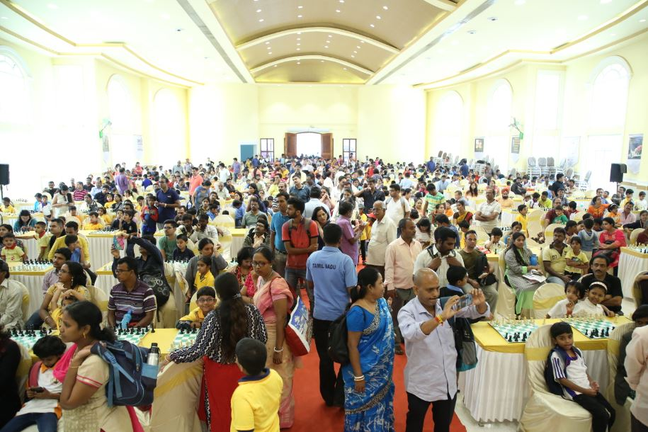 National U-07 Open and Girls Chess Championship is Underway