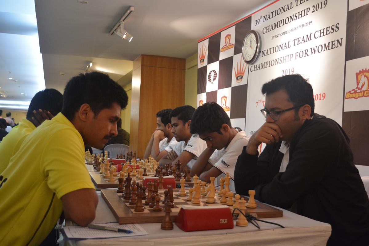 National Team Chess Championship begins – All India Chess Federation